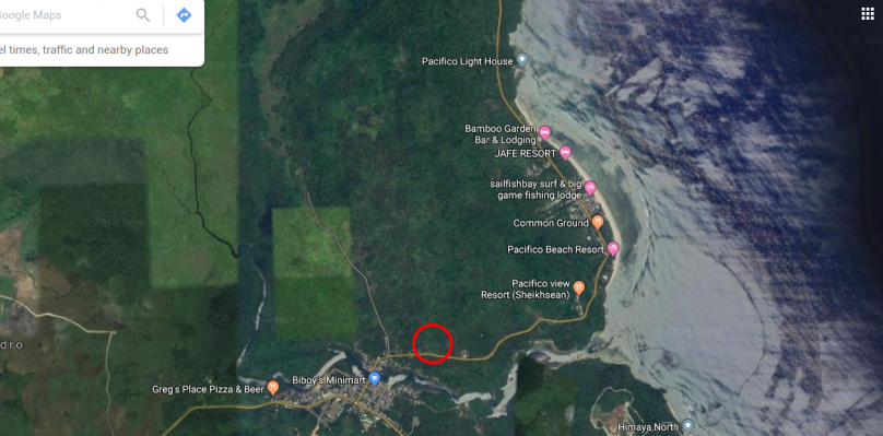 500 and 1000 sqm Lot Near Pacifico Beach Siargao Island For Sale