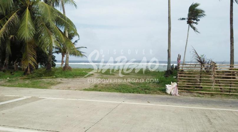 1,200 sqm Ocean Front to Roadside Property For Sale in Burgos Siargao