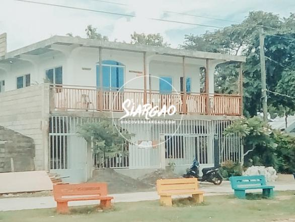 145 sq.m 2 Storey House and Lot For Sale in General Luna. along the road and ocean front.
