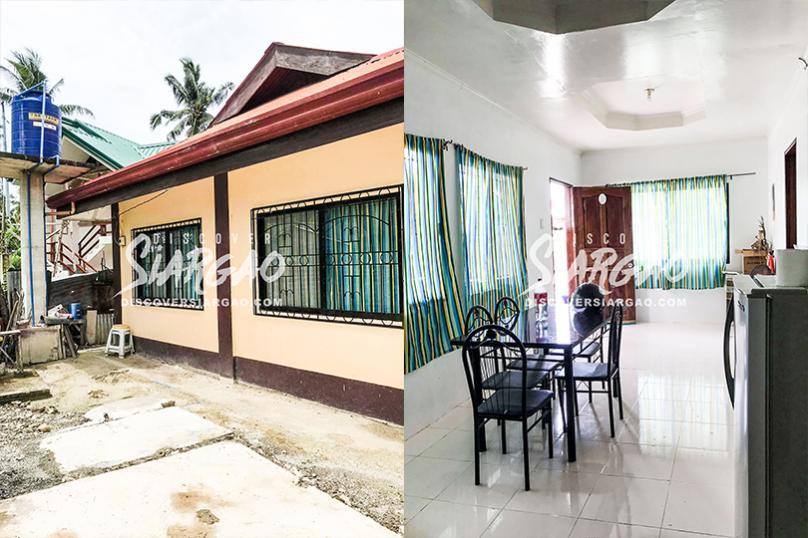 110 sqm House and Lot For Sale in Purok 5 Buyubudhan General Luna Siargao
