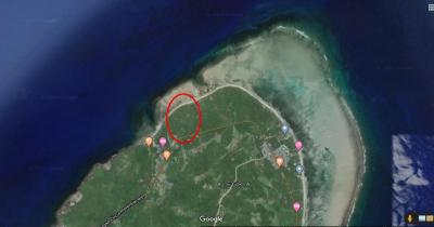 26,316 sqm or 2.6316 Hectare Beach Front For Sale in Tangbo, Sta. Monica Siargao