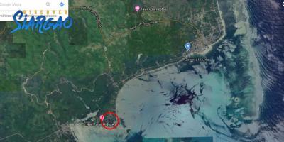 2,299 sqm Beach Front in Malinao GL Siargao