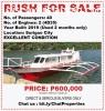 Pump Boat RUSH FOR SALE! in Siargao